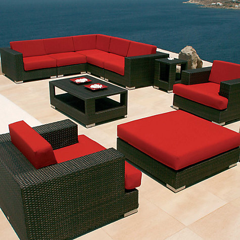 Buy Barlow Tyrie Arizona Large Outdoor Ottoman Online at johnlewis.com