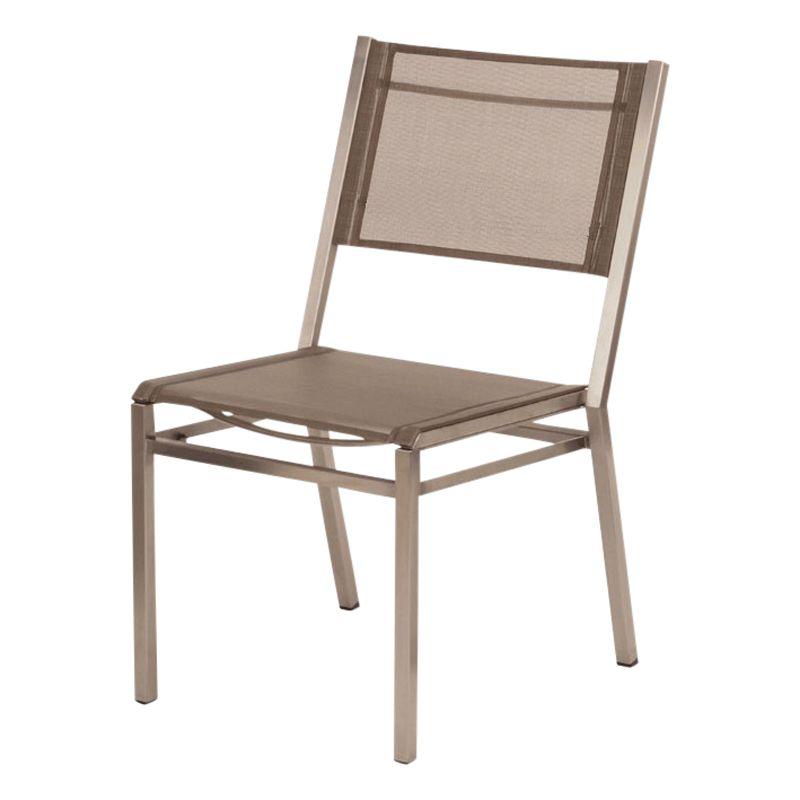 Barlow Tyrie Equinox Side Chair, Titanium