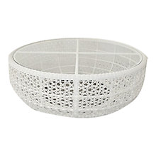 Buy Barlow Tyrie Kirar Round Outdoor Coffee Table, Dia.110cm Online at johnlewis.com