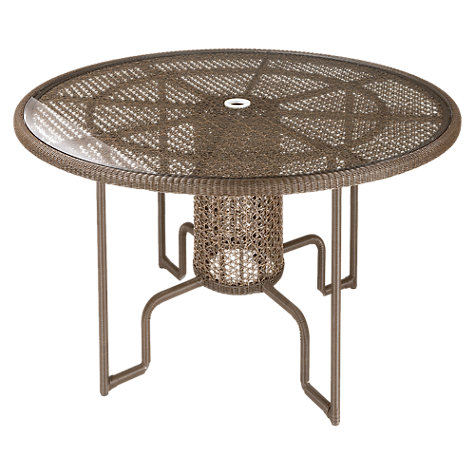 Buy Barlow Tyrie Kirar Round 4 Seater Outdoor Dining Table Online at johnlewis.com