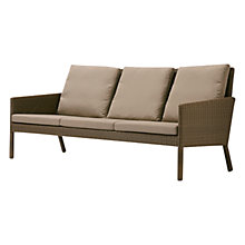 Buy Barlow Tyrie Nevada Outdoor 3 Seater Settee Online at johnlewis.com