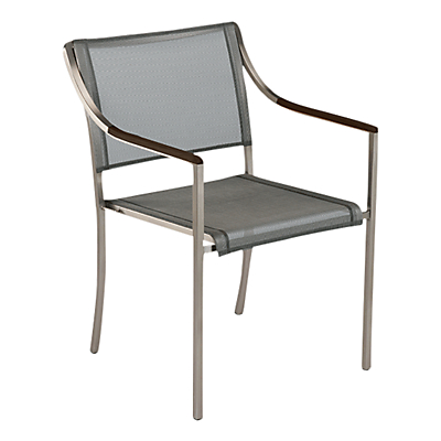 Barlow Tyrie Quattro Outdoor Armchair, Graphite