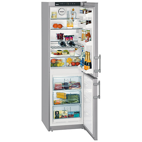Buy Liebherr CNSL3033 Fridge Freezer, Silver Online at johnlewis.com