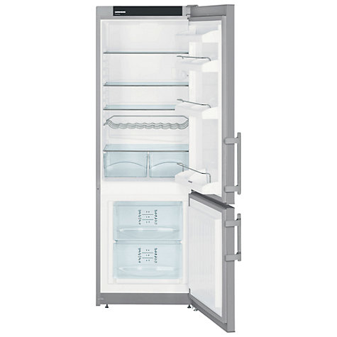 Buy Liebherr CUPSL2721 Fridge Freezer, Silver Online at johnlewis.com