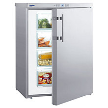 Buy Liebherr GPESF1476 Freezer, A++ Energy Rating, 60cm Wide, Stainless Steel Online at johnlewis.com