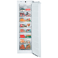 Buy Liebherr IGN2556 Integrated Upright Freezer, A+ Energy Rating, 56cm Wide, White Online at johnlewis.com