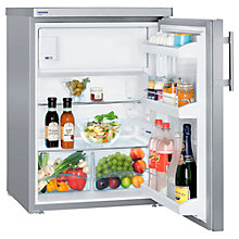 Buy Liebherr TPESF1714 Fridge with Freezer Compartment, A++ Energy Rating, 60cm Wide, Stainless Steel Online at johnlewis.com