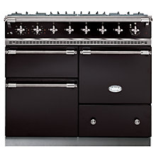 Buy Lacanche Macon LG1053GE Dual Fuel Range Cooker, Black / Chrome Trim Online at johnlewis.com