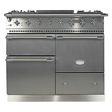 Buy Lacanche Macon LG1053GE Dual Fuel Range Cooker, Stainless Steel / Chrome Trim Online at johnlewis.com