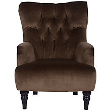 Buy John Lewis Mayfair Armchair, Lusso Praline Online at johnlewis.com