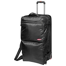 Buy Eastpak Excite 7 L 2-in-1 Soft Side Suitcase, Black Online at johnlewis.com