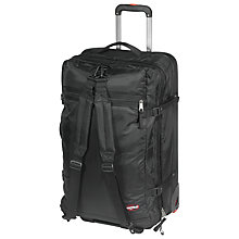 Buy Eastpak Trip 7 S Double Decker 2-Wheel Backpack, Black Online at johnlewis.com