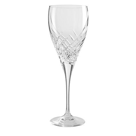 Buy John Lewis Breeze Goblets, Set of 2, Clear Online at johnlewis.com