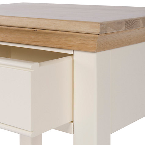 Buy John Lewis Helston 1 Drawer Bedside Table Online at johnlewis.com