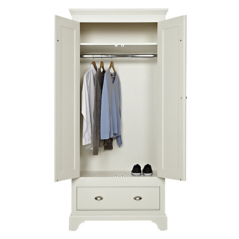 Buy John Lewis Downton 2-door 1-drawer Wardrobe Online at johnlewis.com