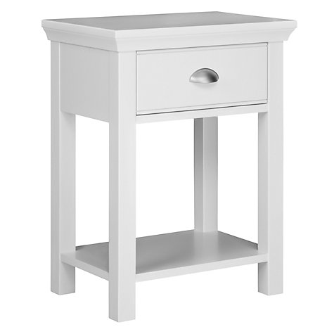 buy john lewis helston 1 drawer bedside table john lewis
