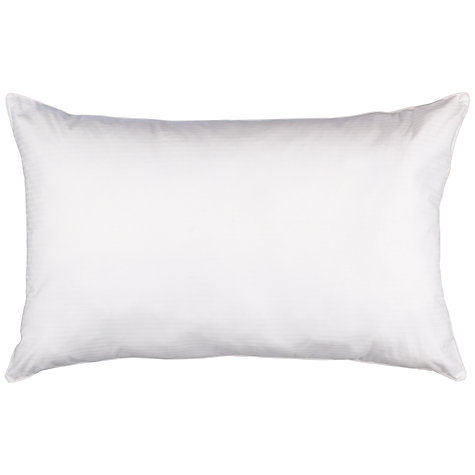 Buy John Lewis New Siberian Goose Feather and Down Kingsize Pillow, Medium/Firm Online at johnlewis.com