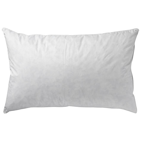 Buy John Lewis New Siberian Goose Feather and Down Standard Pillow, Medium/Firm Online at johnlewis.com