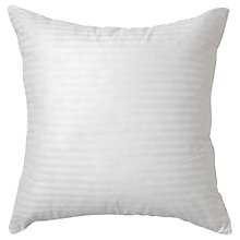 Buy John Lewis Siberian Goose Feather and Down Square Pillow, Medium/Firm Support Online at johnlewis.com