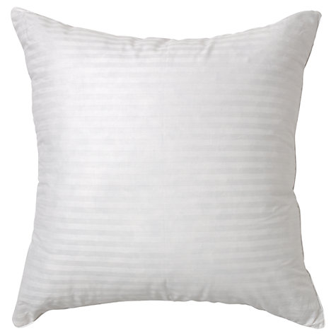 Buy John Lewis New Siberian Goose Feather and Down Square Pillow, Medium/Firm Online at johnlewis.com
