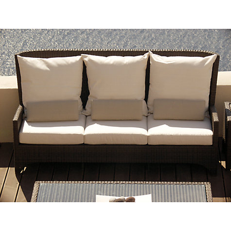 Buy Barlow Tyrie Savannah Deep Seating 3 Seater Outdoor Sofa, Natural Online at johnlewis.com