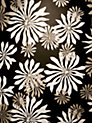 Buy MissPrint Fleur Wallpaper, Black, MISP1014 Online at johnlewis.com