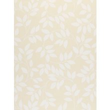 Buy John Lewis Leaf Trail Wallpaper, Lemon Online at johnlewis.com