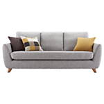 G Plan Vintage The Sixty Seven Large Sofa, Marl Grey