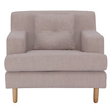 Buy House by John Lewis Alex Armchair, Fraser Steel Online at johnlewis.com
