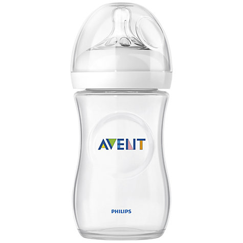 Buy Philips Avent Natural Bottle, 260ml Online at johnlewis.com
