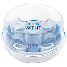 Buy Philips Avent Natural Microwave Steriliser Online at johnlewis.com