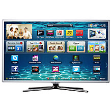 Buy Samsung UE32ES6710 LED HD 1080p 3D Smart TV, 32 Inch with Freeview/Freesat HD, White Online at johnlewis.com