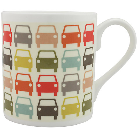 Buy Orla Kiely Multi Cars Mug Online at johnlewis.com