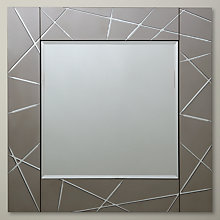 Buy John Lewis Smoke Engraved Mirror Online at johnlewis.com