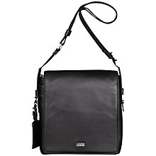 Buy Hugo Boss Bekon Reporter Bag, Black Online at johnlewis.com