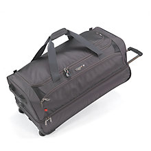 Buy Antler Airstream Double Decker Trolley Bag, Charcoal Online at johnlewis.com
