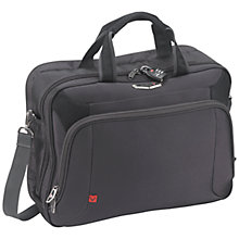 "Buy Antler Business 100 15.6"" Laptop Bag, Charcoal Online at johnlewis.com"