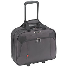 "Buy Antler Business 100 15.6"" Laptop 2-Wheel Bag, Charcoal Online at johnlewis.com"