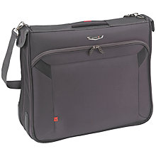 Buy Antler Business 100 Suit Wardrobe Bag, Charcoal Online at johnlewis.com