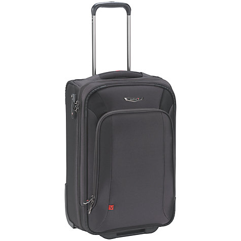 "Buy Antler Business 100 B1 Portrait 2-Wheel 15.6"" Laptop Mobile Office, Charcoal Online at johnlewis.com"