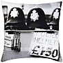 Barbara Chandler Love London Police Helmet Cushion