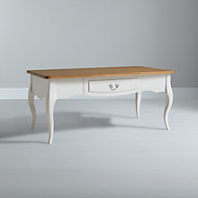 Buy John Lewis Camille Coffee Table, Wood Top Online at johnlewis.com
