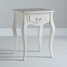 Buy John Lewis Camille Side Table, White Online at johnlewis.com