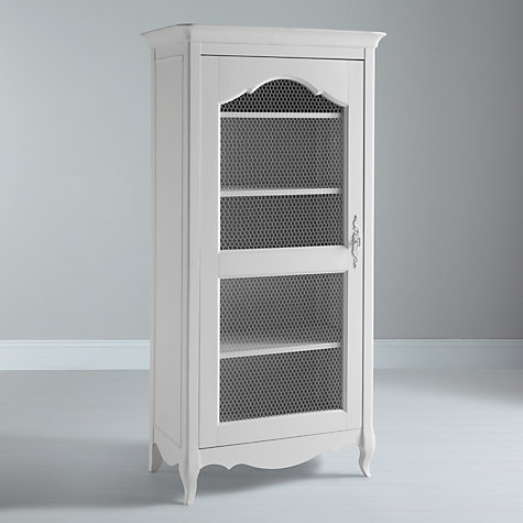 Buy John Lewis Camille Display Cabinet, White Online at johnlewis.com