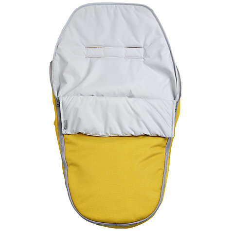 Buy Nuna Pepp Footmuff, Yellow Online at johnlewis.com