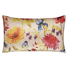 Buy Voyage Summer Cushion, Raspberry Online at johnlewis.com