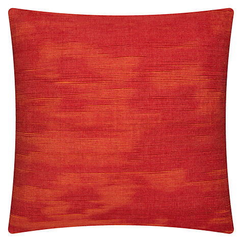 Buy House by John Lewis House Ribble Cushion, Orange Online at johnlewis.com