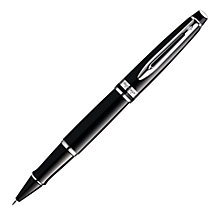 Buy Waterman Expert Rollerball, Black/Chrome Online at johnlewis.com