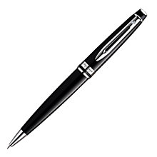 Buy Waterman Expert Ballpoint, Black/Chrome Online at johnlewis.com
