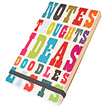 Buy Art File Ink Press A6 Jotter Online at johnlewis.com